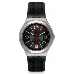 Buy Swatch Men's Watch Irony Big Classic Black Grid YWS444