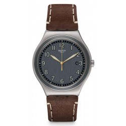 Buy Swatch Men's Watch Irony Big Classic Brandy YWS445