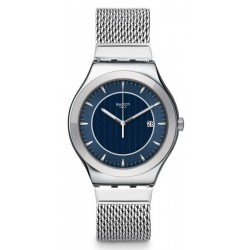 Buy Swatch Men's Watch Irony Big Classic Blue Icone YWS449M