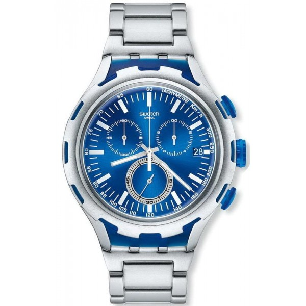 Buy Swatch Men's Watch Irony Xlite Endless Energy Chronograph YYS4001AG
