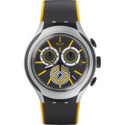 Swatch Men's Watch Irony Xlite Bee-Droid YYS4008 Chronograph