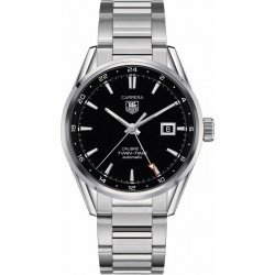 Tag Heuer Aquaracer Men's Watch WAR2010.BA0723 Twin Time Automatic
