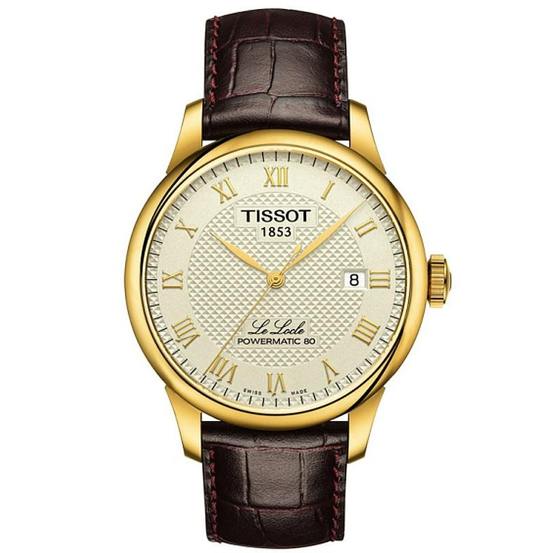 2caad2a32 Tissot Men's Watch T-Classic Le Locle Powermatic 80 T0064073626300