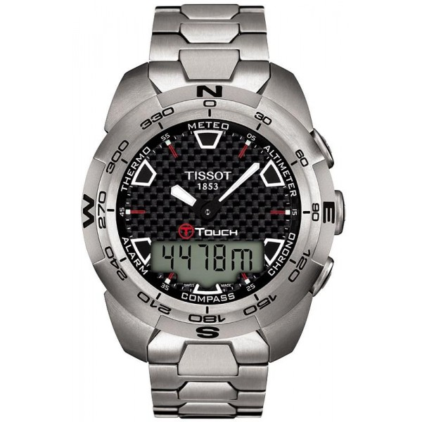 Buy Tissot Men's Watch T-Touch Expert Titanium T0134204420100