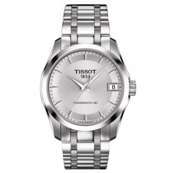 Buy Tissot Women's Watch T-Classic Couturier Powermatic 80 T0352071103100