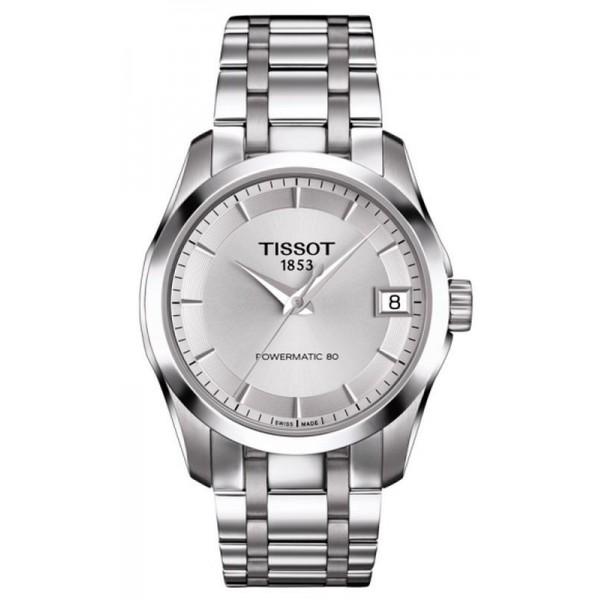 Buy Tissot Women's Watch T-Classic Couturier Powermatic 80 T0352071103100