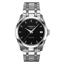 Buy Tissot Women's Watch T-Classic Couturier Automatic T0352071105100