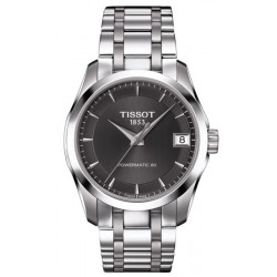 Buy Tissot Women's Watch T-Classic Couturier Powermatic 80 T0352071106100