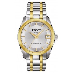 Buy Tissot Women's Watch T-Classic Couturier Powermatic 80 T0352072203100