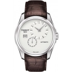 Tissot Men's Watch Couturier Automatic Petite Seconde T0354281603100