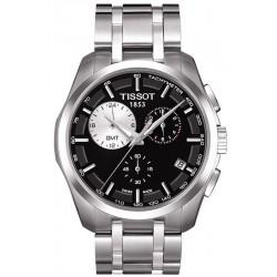 Tissot T0354391105100 T-Classic Couturier GMT Chronograph Quartz Men's Watch