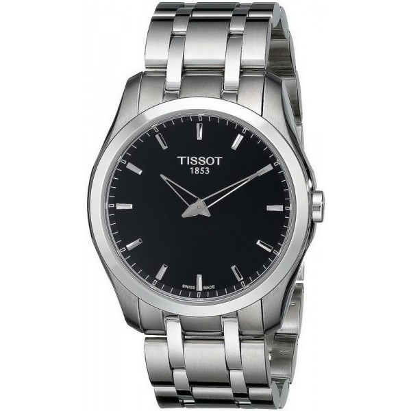 Buy Tissot Men's Watch T-Classic Couturier Secret Date T0354461105100