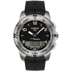 Tissot T0474204705700 Touch Collection T-Touch II Titanium Men's Watch
