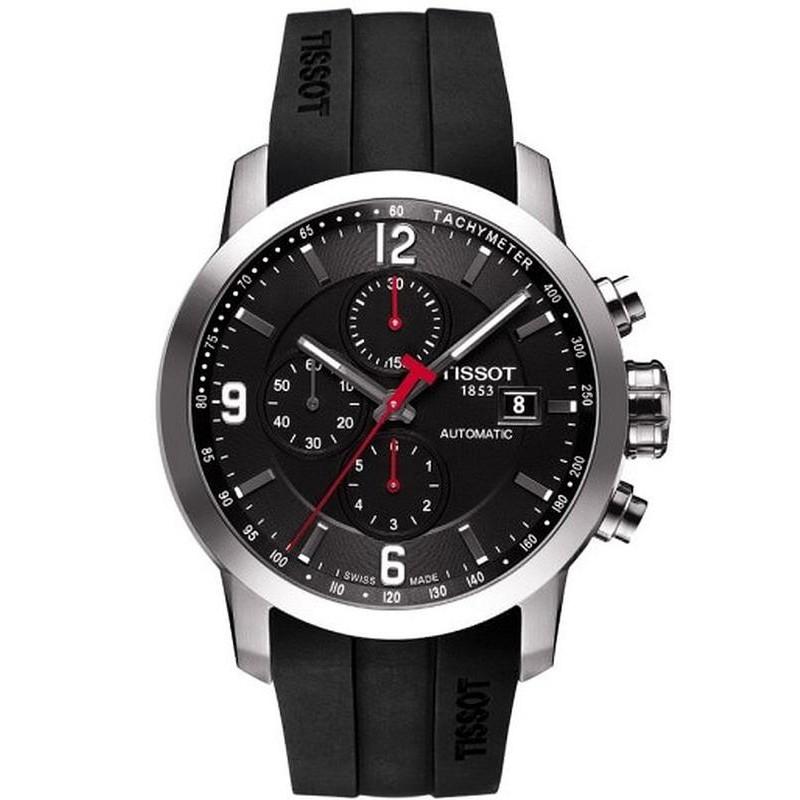 5552d17e696 Tissot Men s Watch PRC 200 Automatic Chronograph T0554271705700