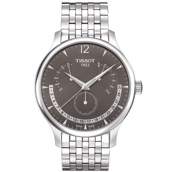 Buy Tissot Men's Watch Tradition Perpetual Calendar T0636371106700