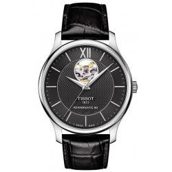 Tissot Men's Watch Tradition Powermatic 80 Open Heart T0639071605800