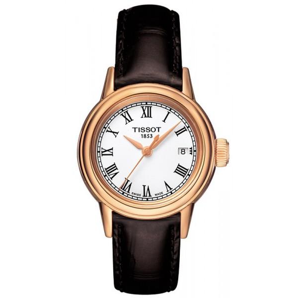 Buy Tissot Women's Watch T-Classic Carson Quartz T0852103601300