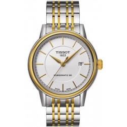 Tissot T0854072201100 T-Classic Carson Powermatic 80 Automatic Men's Watch