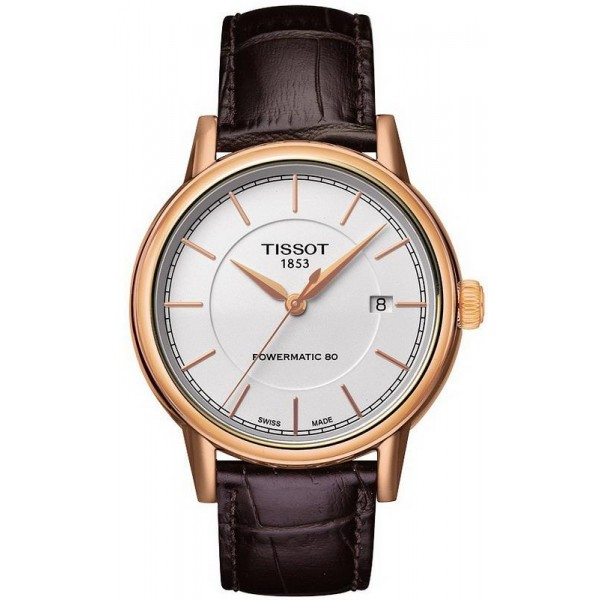 Buy Tissot Men's Watch T-Classic Carson Powermatic 80 T0854073601100