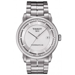Tissot Men's Watch T-Classic Luxury Powermatic 80 T0864071103100
