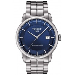 Tissot Men's Watch T-Classic Luxury Powermatic 80 T0864071104100