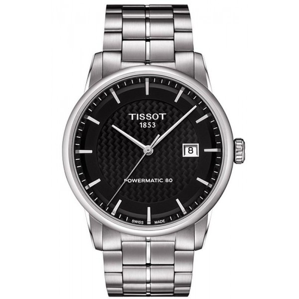 Buy Tissot Men's Watch T-Classic Luxury Powermatic 80 T0864071120102