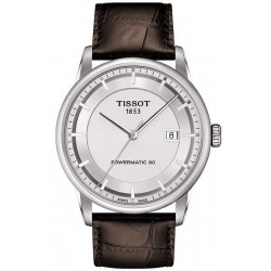 Tissot Men's Watch T-Classic Luxury Powermatic 80 T0864071603100