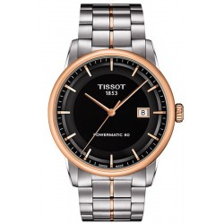 Tissot Men's Watch T-Classic Luxury Powermatic 80 T0864072205100