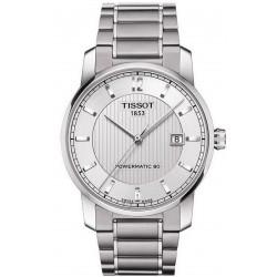 Tissot Men's Watch T-Classic Powermatic 80 Titanium T0874074403700