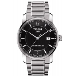 Tissot Men's Watch T-Classic Powermatic 80 Titanium T0874074405700