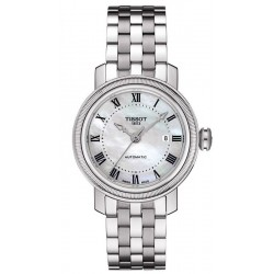 Buy Tissot Women's Watch T-Classic Bridgeport Automatic T0970071111300