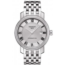 Buy Tissot Men's Watch Bridgeport Powermatic 80 T0974071103300