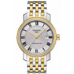 Tissot Men's Watch Bridgeport Powermatic 80 T0974072203300
