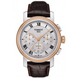 Tissot Men's Watch Bridgeport Automatic Chronograph Valjoux T0974272603300