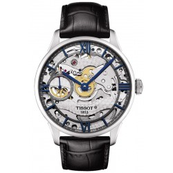 Buy Tissot Men's Watch Chemin des Tourelles Squelette Mechanical T0994051641800