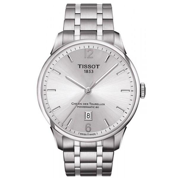 Buy Tissot Men's Watch Chemin Des Tourelles Powermatic 80 T0994071103700
