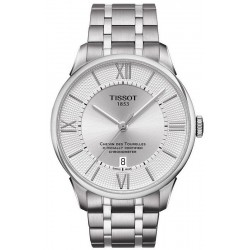 Tissot Men's Watch Chemin des Tourelles Powermatic 80 COSC T0994073603800