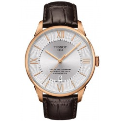 Tissot Men's Watch Chemin Des Tourelles Powermatic 80 COSC T0994083603800