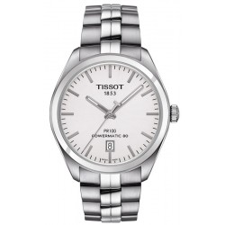 Tissot T1014071103100 T-Classic PR 100 Powermatic 80 Automatic Men's Watch