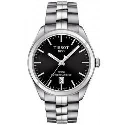 Tissot Men's Watch T1014071105100 T-Classic PR 100 Powermatic 80