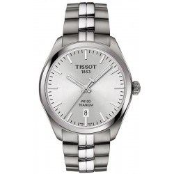 Tissot Men's Watch T-Classic PR 100 Titanium Quartz T1014104403100