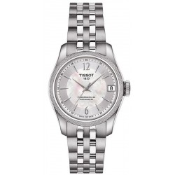 Tissot T1082081111700 T-Classic Ballade Powermatic 80 COSC Chronometer Automatic Mother of Pearl Women's Watch