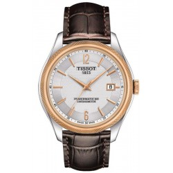 Tissot Men's Watch Ballade Powermatic 80 COSC T1084082603700
